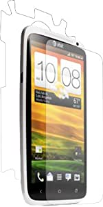 HTC ONE X XtremeGUARD FULL BODY Screen Protector Front+Back (Ultra CLEAR)(XtremeGUARD Packaging) Compatible with AT&T Version ONLY