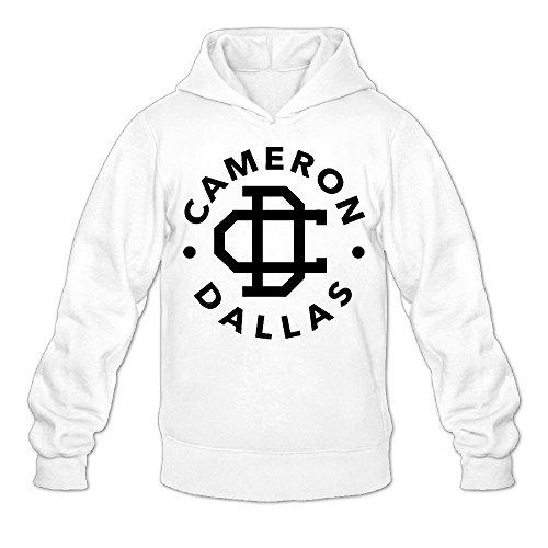 Dallas Logo Hoodies Sweatshirts XL White ()