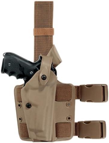 Details about  /Safariland ALS Level 2 FDE Holster Glock 17 22 w// Insight M3 Light No Belt Loops