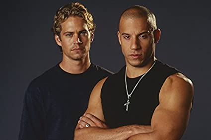 Amazon com: Vin Diesel and Paul Walker in The Fast and the