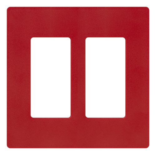 Price comparison product image Lutron SC-2-HT Claro Two-gang Wallplate Hot