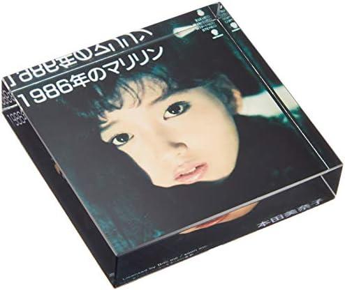 [해외]동경 ミモレ 혼다 미나코 1986 년의 마릴린 유리 페이퍼 웨이트 レコジャケグッズ / Tokyo Mimore Honda Minako 1986 Marilyn Glass Paper Weight Rekojaque Goods