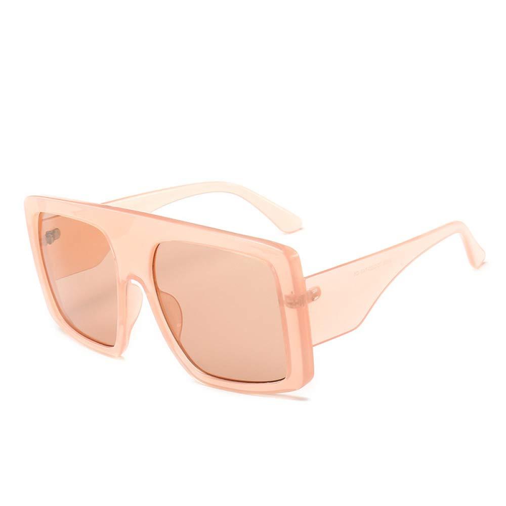 Yangjing-hl Tendencia Moda Gafas de Sol con Montura Grande ...