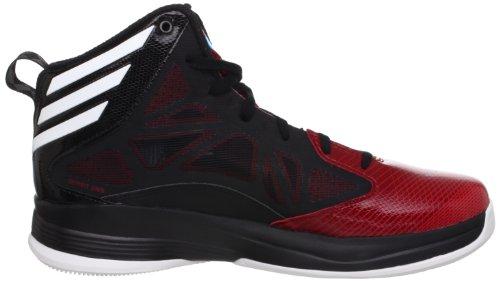 Adidas - CRAZY FAST - Coleur: Noir-Rouge - Taille: 44.6