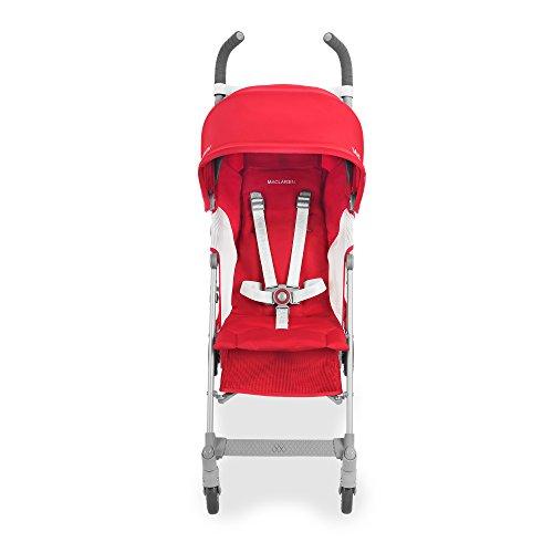 Maclaren Globetrotter Stroller, Cardinal/White