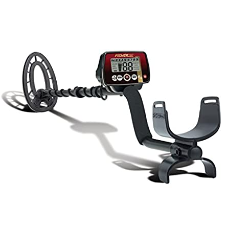 Fisher F22 Weatherproof Metal Detector with Submersible...