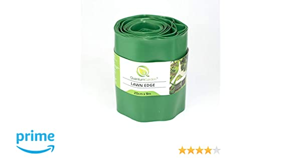 Cellfast, verja de césped marrón, 20 cm x 9 m: Amazon.es ...