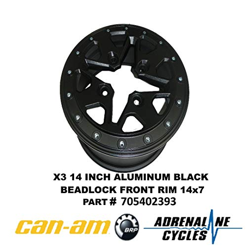 (Can-Am New OEM Rim 14 Inch B-160 Painted, 705402393 )