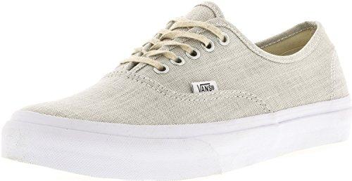 bc559b40cd Galleon - Vans Authentic Slim Sneakers (Chambray) Gray True White Womens 8