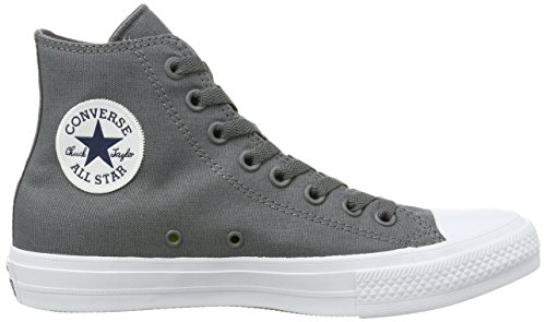 Converse Herren Chuck Taylor All Star II High-Top Grau (Thunder/white/navy)