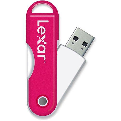 Jumpdrive Twistturn Usb - Lexar JumpDrive TwistTurn 16 GB High Speed USB Flash Drive (Pink)