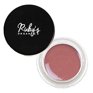 Ruby's Organics Crème Blush | Organic, Natural And Mineral – Deep Rose, 9g