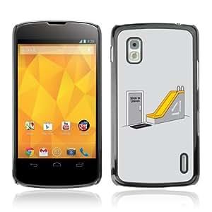 YOYOSHOP [Funny Office Humor] LG Google Nexus 4 Case