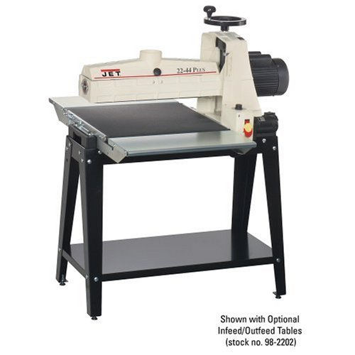 JET 649004K22X44 Plus Drum 22-by-1-3/4-Inch Sander with Open Stand 115-Volt 1-Phase