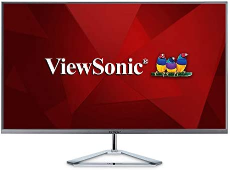 ViewSonic VX3276-MHD 32 Inch 1080p Frameless Widescreen IPS Monitor with Screen Split Capability HDMI and DisplayPort