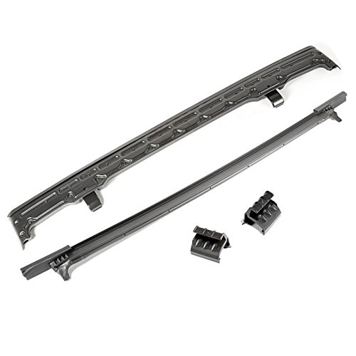 Rugged Ridge 13516.10 Soft Top and Exo-Top Header Kit for Jeep JK Wrangler (Jeep Header Kit)