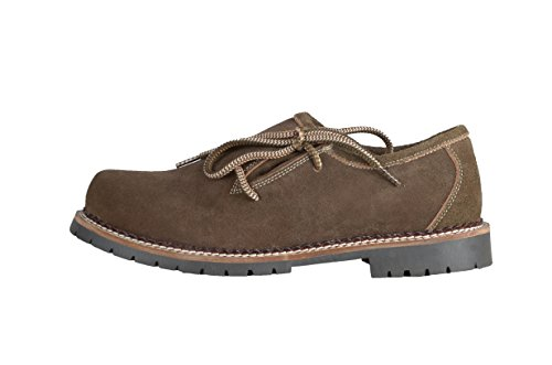 uomini Città Lace Up degli scarpe Trachtenmode Schlusen marroni fzqXY5
