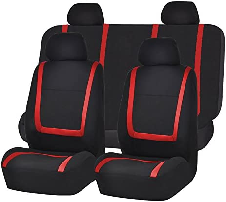 FH Group FB032RED114 Detachable Headrests