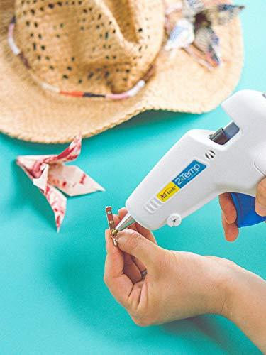 AdTech 0453 2-Temp Dual Temperature Hot Glue Gun Full Size, White (2-Pack)
