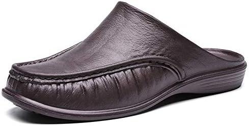 サンダル メンズ ルームシューズ オフィスサンダル スリッパ ビジネス 履き替え かかとなし カジュアル サボ 運転靴 トライビングシューズ 室内 外出 軽量 スリッポン 3色