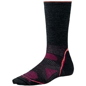 Smartwool Women's PhD Outdoor Ultra Light Crew Socks (Charcoal) Small