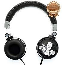 Headphone Fone de Ouvido c/Microfone Iwill | The Simpsons Bart - Preto