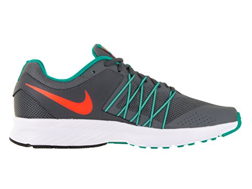 NIKE Mens Air Relentless 6 Drk Gry/TTL Orng/Clr JD/CL Gry Running Shoe 10 Men US VOsum18h