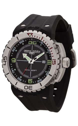 Jorg Gray Men's JG8700-11 Analog Display Quartz Black Watch (Jorg Gray Watch)
