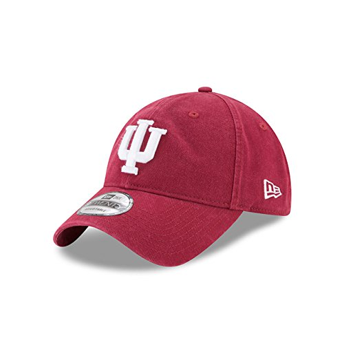 - New Era Men's Indiana Hoosiers Core Classic Dark Red One Size Fits All