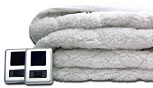 Amazon Com Biddeford 5302 9051128 100 Sherpa Quilted