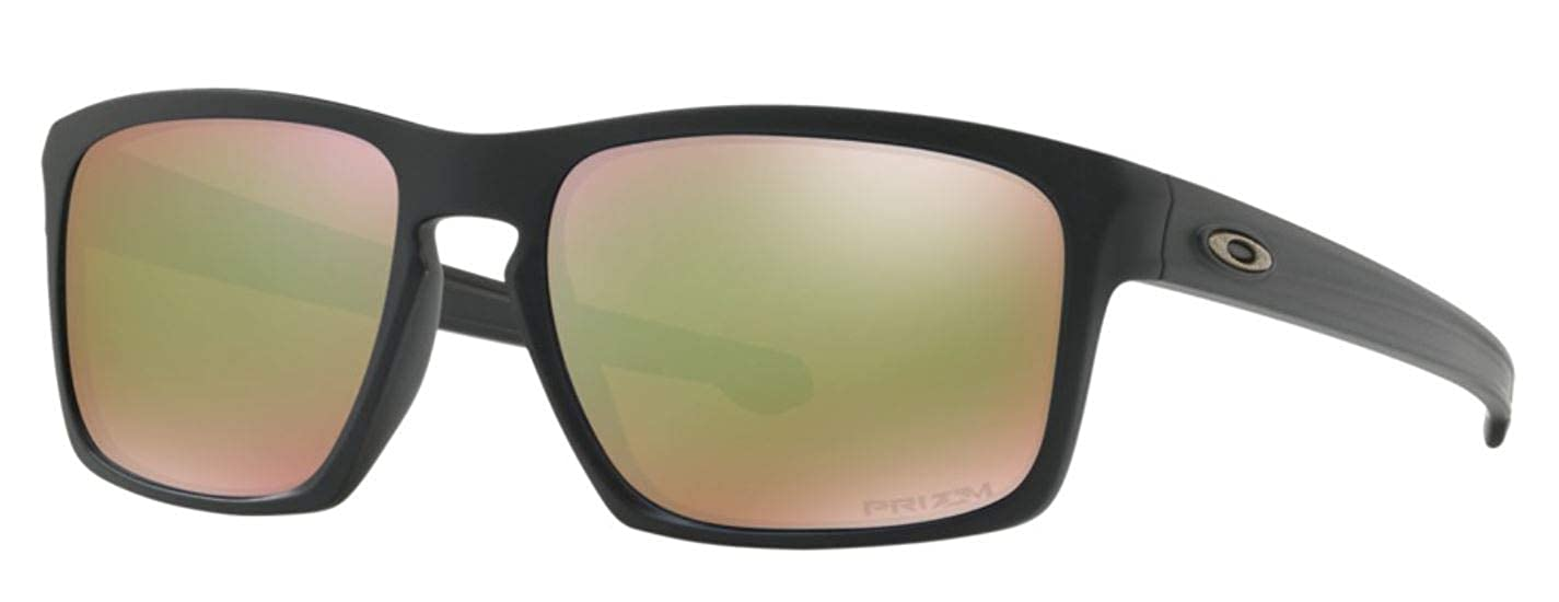 b6b1c97474 Amazon.com  Oakley Mens Sunglasses Black Green - Polarized - 57mm  Clothing