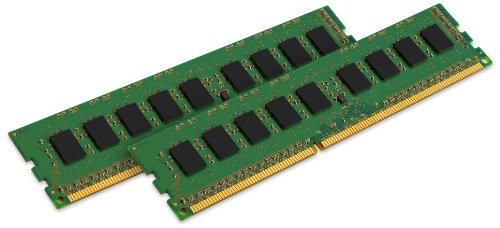 Kingston ValueRAM 8GB Kit (2x4GB) 1333MHz DDR3 Non - ECC CL9 DIMM SR x8 STD Height 30mm Desktop Memory KVR13N9S8HK2/8