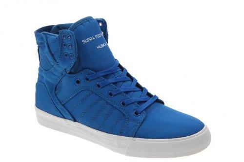Supra Muska Skytop skateboard shoes 001 Royal Blue   White 81127fbef