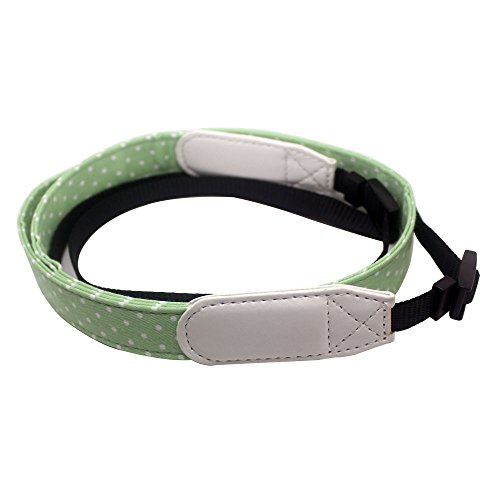 Giani Mini Camcorder Camera Shoulder Neck Strap Universal Camcorder Belt for Fujifilm Instax Mini 8/ Mini 25/ Mini 90 Instant Camera DSLR Nikon Canon Sony Olympus Samsung (Green)
