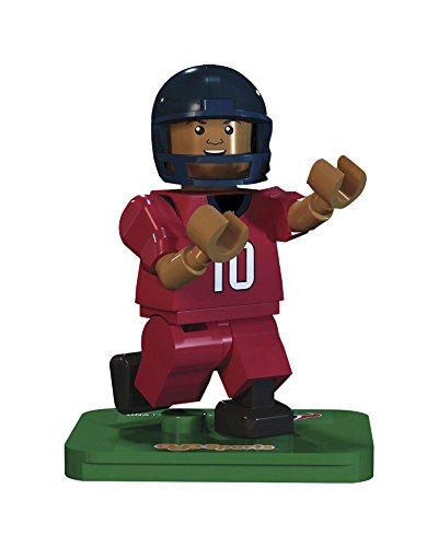 NFL GEN3 Houston Texans DeAndre Hopkins Limited Edition Minifigures, Blue, Small