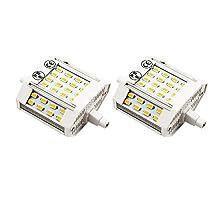 Bonlux 10W J78 LED Light Bulb, 200 Degree Beam Angle, R7S LED Bulb, Daylight 6000k, Double Ended R7S 78mm LED Light Bulbs J Type, Non-dimmable(2, 10W 78mm Daylight)
