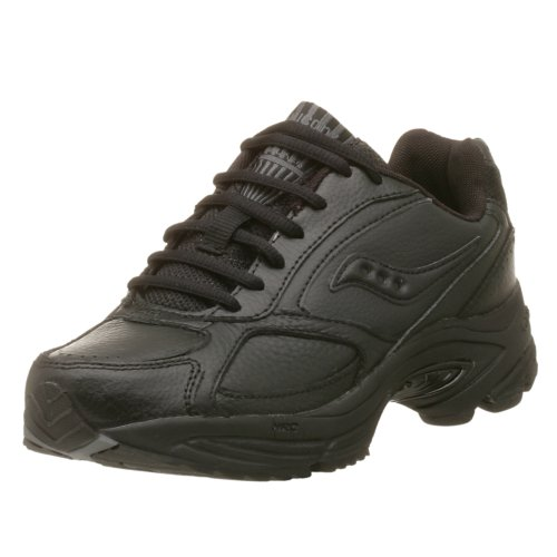 Saucony Women's Grid Omni Walker Walking Shoe,Black,9.5 M -