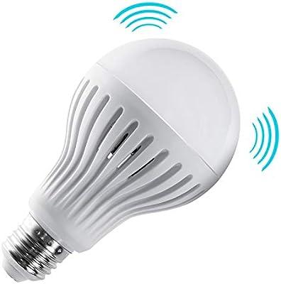E2712 De Maclean Mce176 Chaud À Avec Micro Détecteur Mouvement Ondes Led WBlanc Lampe eDHYWE29bI