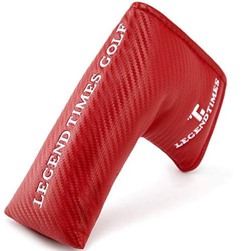 Golf Blade Putter Cover, LEGENDTIMES Carbon Fiber Headcover Magnetic Closure for Scotty Cameron Taylormade Odyssey
