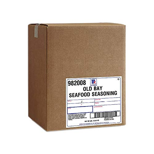 Old Bay Seasoning - 50 lb. box, 1 per case by Old Bay