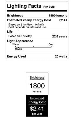 Westinghouse 0 DLR46 Utility LED Light Bulb with Medium Base