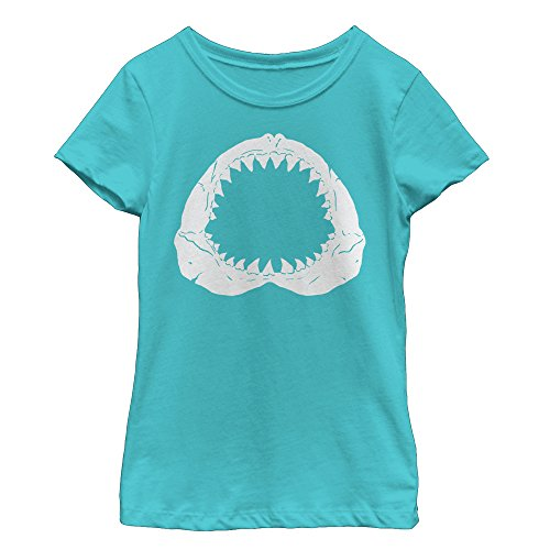 Lost Gods Shark Tooth Grin Girls Graphic T Shirt -