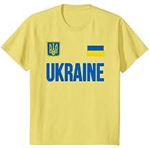 Ukraine T-shirt Ukrainian Soccer Jersey Style