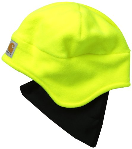 Lime Green Santa Hat - Carhartt Men's High Visibility Color Enhanced