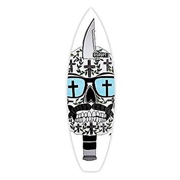 Diseño de calavera cuchillo, interrumpir Tabla de surf