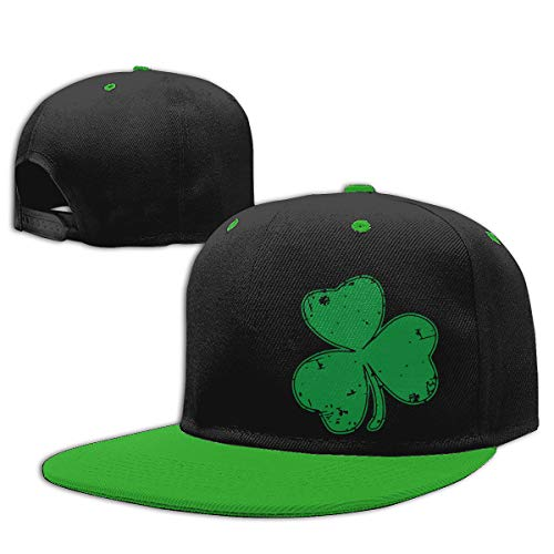 KID75CAP Baby Girl Baseball Cap Irish Shamrock Cotton Trucker Hat Green
