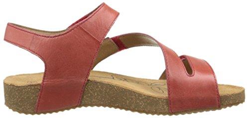 Josef Rojo vestir 815 350 Tonga de Seibel 25 Mujer Rouge Red Sandalias 40a4x6rnXq
