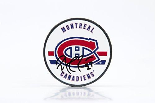 Patrick Roy Autographed Montreal Canadiens Acrylic Puck, UDA
