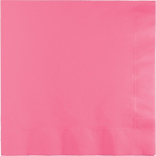 Creative Converting 3 Ply Lunch Napkins Candy Pink 500 Ct