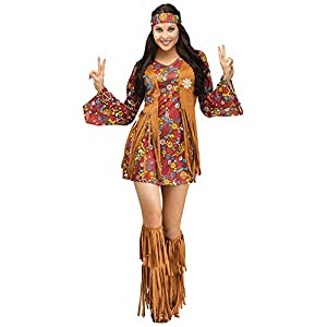 Fun World Peace & Love Hippie Adult Costume